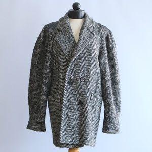 Billi by Billycoat Vintage 1980s Herringbone Coat